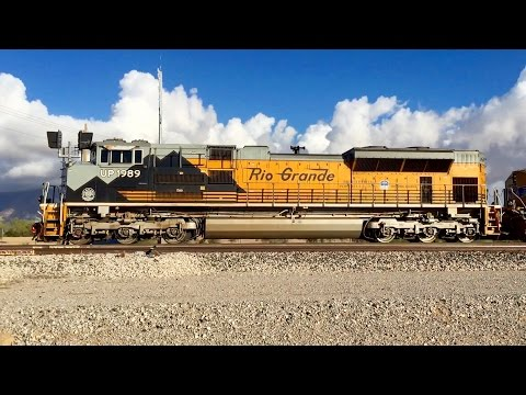 [HD] Railfanning the Union Pacific Sunset Route in Arizona 2015