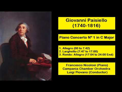 Giovanni Paisiello (1740-1816) - Piano Concerto Nº 1 in C Major