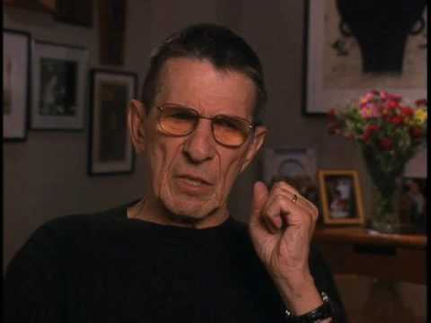 "Leonard Nimoy on developing ""Star Trek's"" Spock character - EMMYTVLEGENDS.ORG"