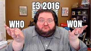 Who Won e3 2016? Xbox? Playstation?  Nintendo?