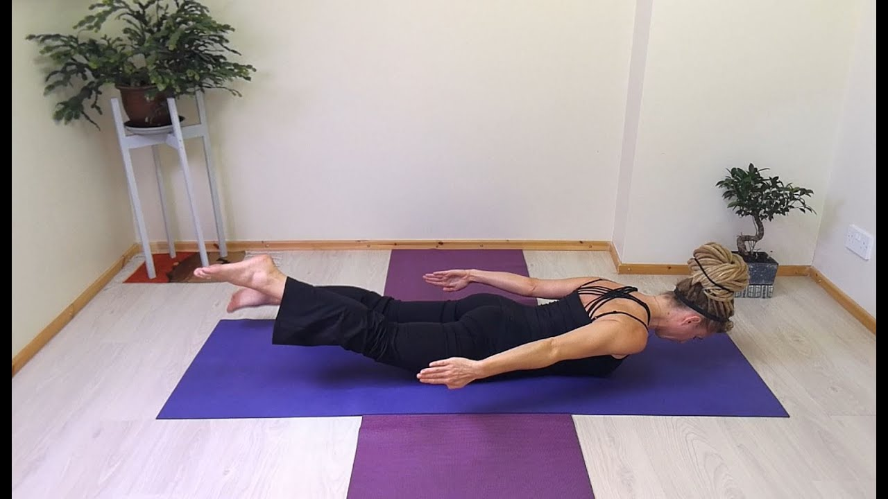 Best Exercises to Strengthen the Lower Back - Prone Lumbar Extension / Advanced Pilates Swimming