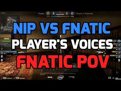 Katowice 2015 - fnatic vs NiP inferno grand final players voices (fnatic POV Swedish)