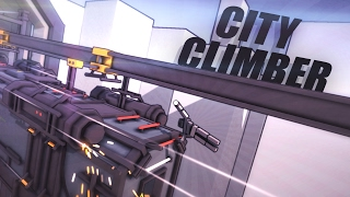 CLIMBING A SPEEDING TRAIN!!! - City Climber (Game / Gameplay) #2
