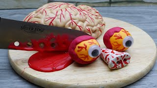 Stop Motion Cooking Classic Minced Meat From Brainout, Scary Things 4K | Cuckoo