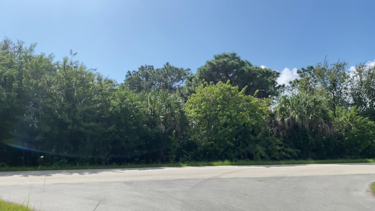 SOLD By Compass Land USA-0.23 Acres With Power & Paved Road! In Port Charlotte, Charlotte County FL