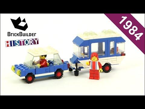 Lego Town 6694 Car with Camper - 1984 - BrickBuilder History