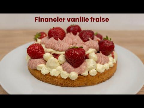 recette-financier-vanille-fraise
