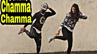 Chamma chamma song dance video choreographed by ajay kashyap