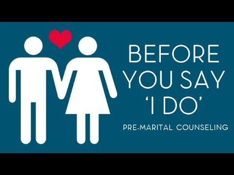 premarital counseling or pre-marital counseling
