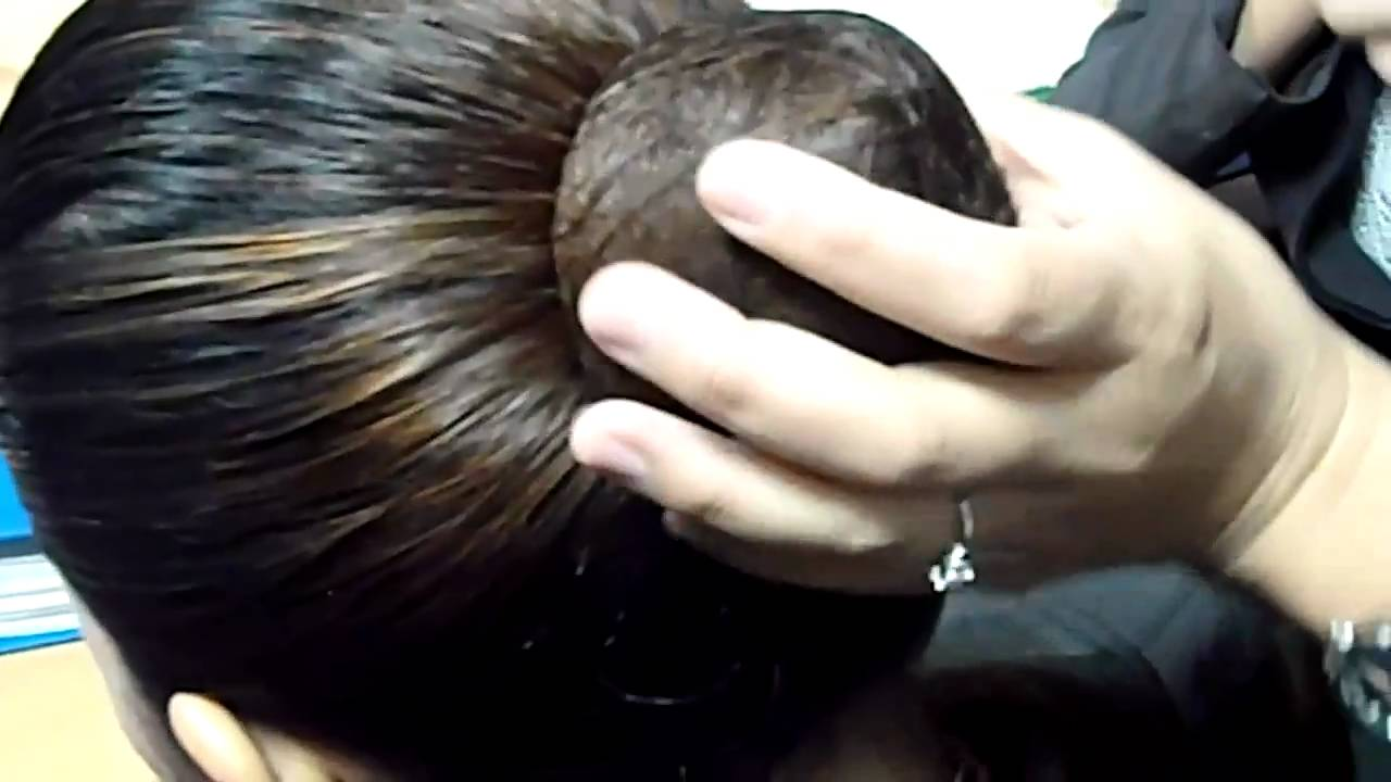 how to bun your hair. - youtube