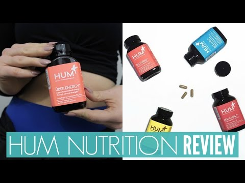 HUM Nutrition Vitamin Review | Uber Energy, Moody Bird, Raw Beauty Powder & More!