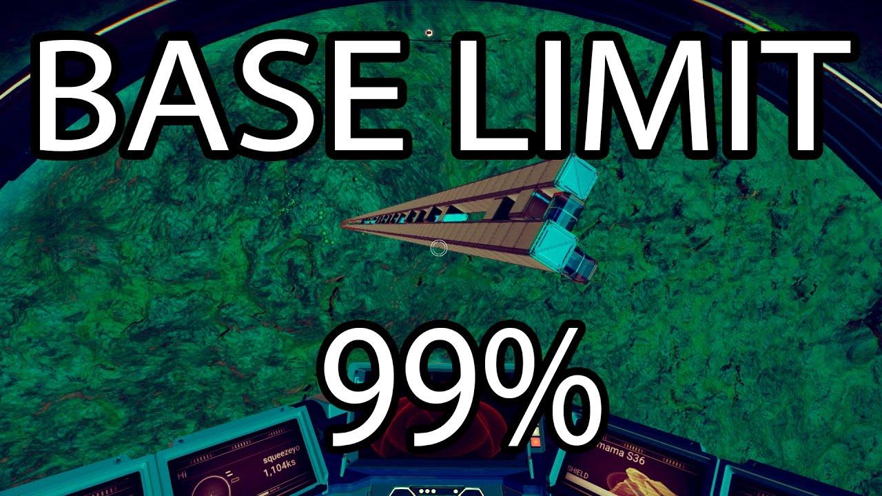No Man S Sky Base Building Limit