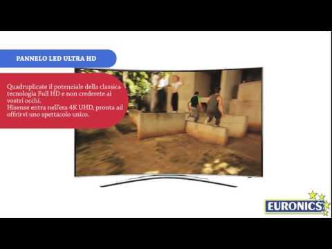 Hisense Smart TV LED 3D Curvo 4K 55XT810