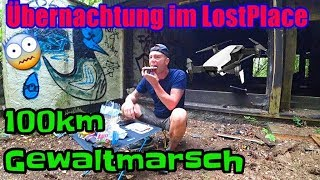Gewaltmarsch Köln-Koblenz mit Übernachtung in LostPlace