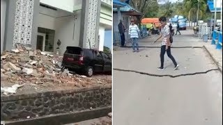 VIDEO Gempa M 6.8 Guncang Ambon Maluku Pagi Ini, Tidak Berpotensi Tsunami