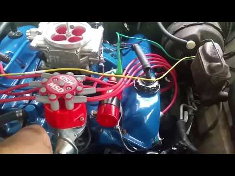 FiTech GoStreet fuel injection on 1971 Ford F250, stock