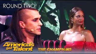Ben Blaque: Act Goes HORRIBLY Wrong After Alesha Dixon Nearly Kills Him! AGT Champions 2020
