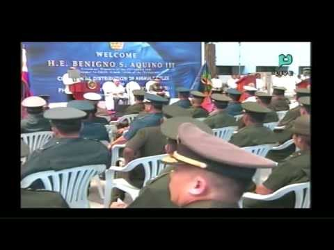 Ceremonial Distribution of Assault Rifles to PHL Army, PHL Navy [08/14/14]