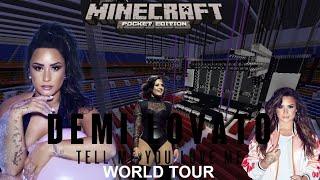 Demi Lovato - Tell Me You Love Me World Tour (Minecraft)