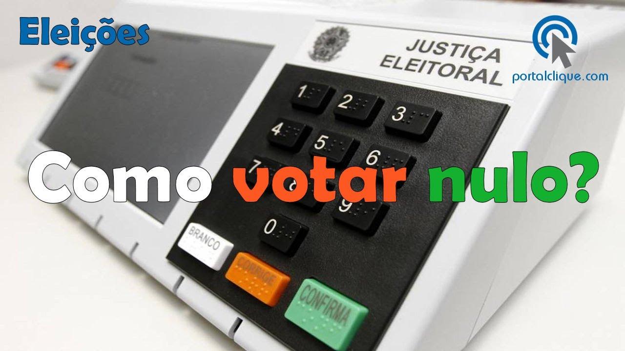 Como Anular o Voto? Saiba como Votar Nulo na Urna Eletrônica
