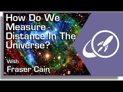 How Do We Measure Distance In The Universe?