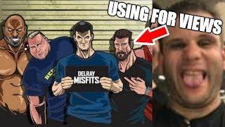 Leather Daddy Talks Jason Genova Using The Delray Misfits For Views | IG Livestream | 2-12-19
