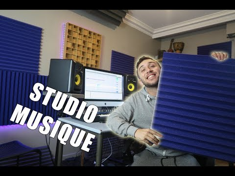 MON NOUVEAU STUDIO DE MUSIQUE !! (10000€)