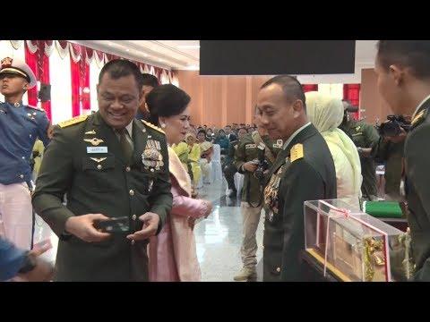 Kasad Mewisuda 131 Purnawirawan Perwira Tinggi TNI Angkatan Darat Tahun 2018