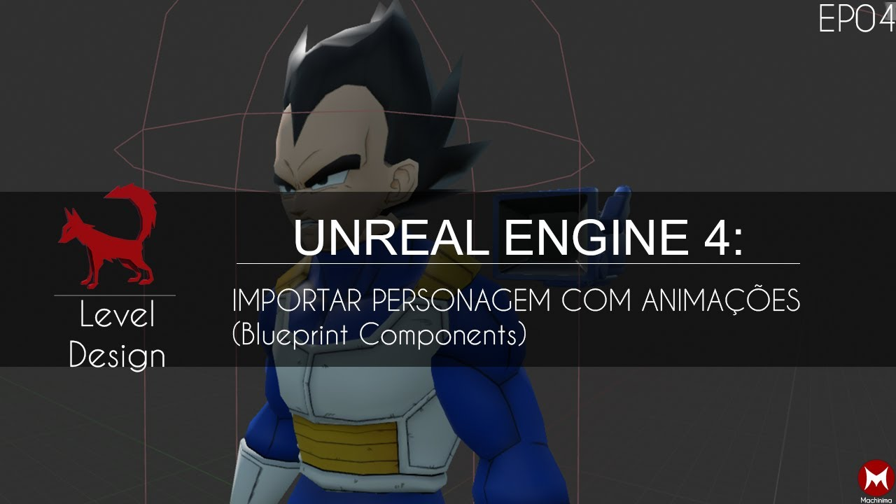 Unreal engine 4 importar character com animaes blueprint unreal engine 4 importar character com animaes blueprint components ep04 malvernweather Images