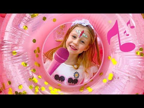 Настя - Тебя поздравит Настя - песня для детей (Official Video)