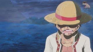 A Grande Batalha do Luffy com a Nami Contra o Exercito da baleia mom - Análise Zueira