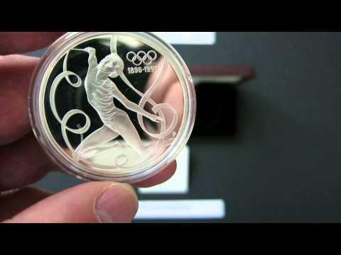 200 Schilling 1995 Österreich Austria The Rhythmic Gymnast