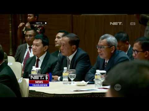 Pertemuan 3 Menteri Pertahanan Bahas Gangguan Keamanan di Perbatasan - NET16