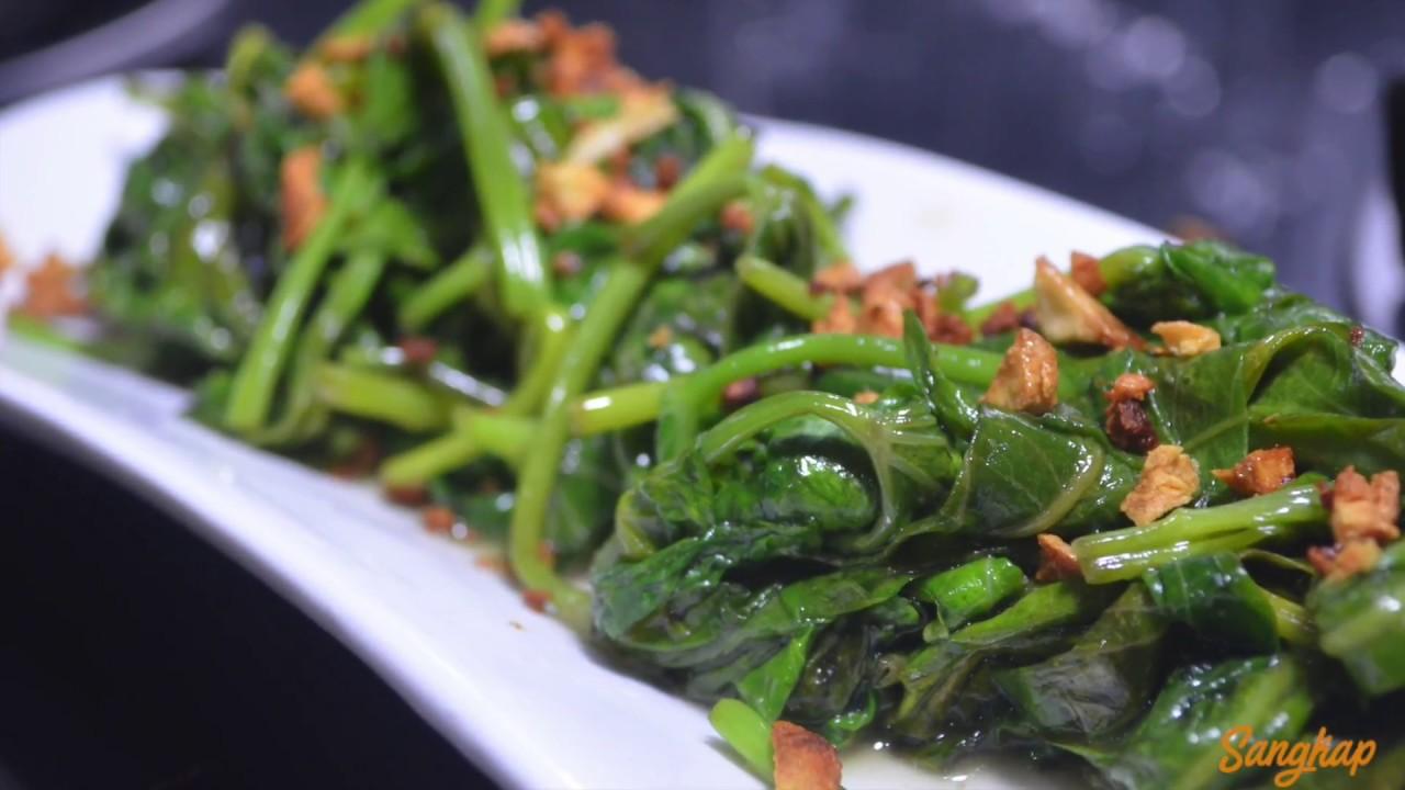 Garlic Kangkong Youtube