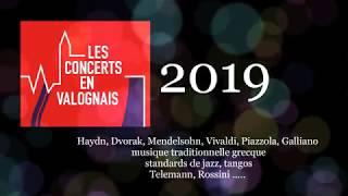 Les Concerts en Valognais 2019