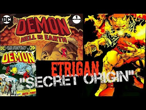 "Etrigan's Secret Origin & the DEMON #1 ""Hell is Earth"" - comic & colloquy'"