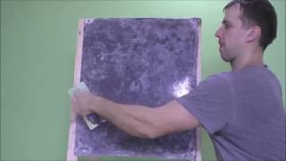 Имитация мрамора из обычной краски