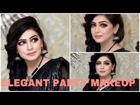 Elegant Party Makeup  Look     Daytime Makeup For Women   MJMAKEUPARTIST08