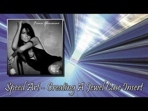 Speed Art - Professional CD Jewel Case Insert - Photoshop CS5