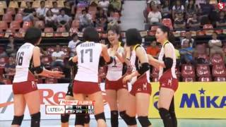 【020515】 第1回AVCアジア女子U23選手権 -台北対日本 3-1 第四セット