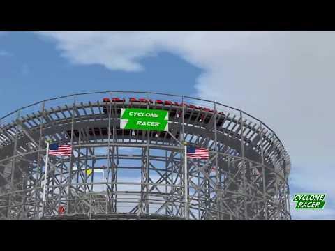 Cyclone Racer | The Pike Long Beach California | NL2