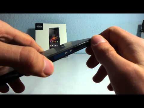 Sony Xperia Z okostelefon kicsomagoló videó | Tech2.hu