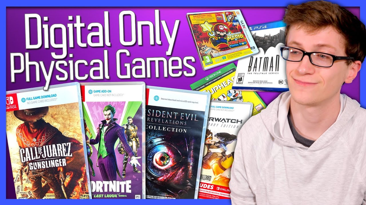 Digital Only Physical Games - Scott The Woz
