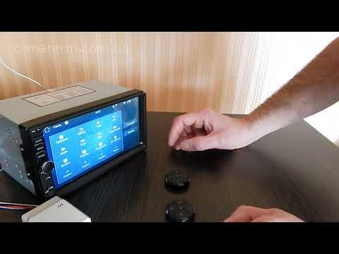 Универсальные кнопки управления автомагнитолой
