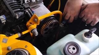 видео ВАЗ 2115: замена ремня ГРМ своими руками