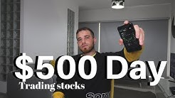 How To Make $500+ Day Trading The Stock Market in 2020