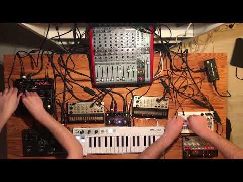 Volca Progressive House & Techno Jam (2018-03-17 Part I)