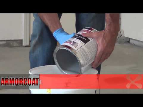 Armorcoat DIY Epoxy Floor Coating and Color Flake System