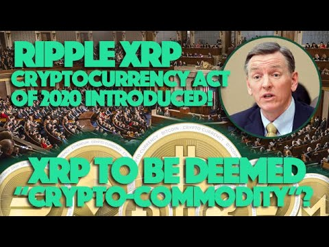 Commodities exchange act cryptocurrency