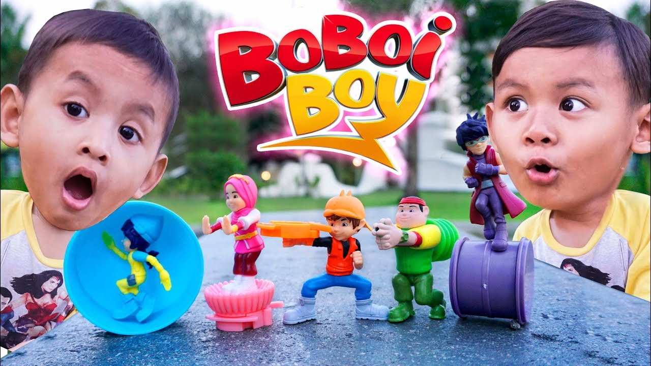 Mainan BoBoiBoy Hadiah Dari Chaki Kids Meals Edisi Bulan September | Chaki Kids Meal KFC toys 2018